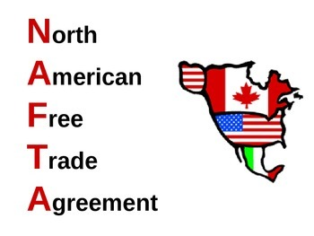 NAFTA: The North American Free Trade Agreement by JaHall | TpT