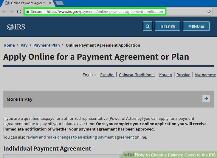 Online Payment Agreement Irs Unique What if You Can T Pay the