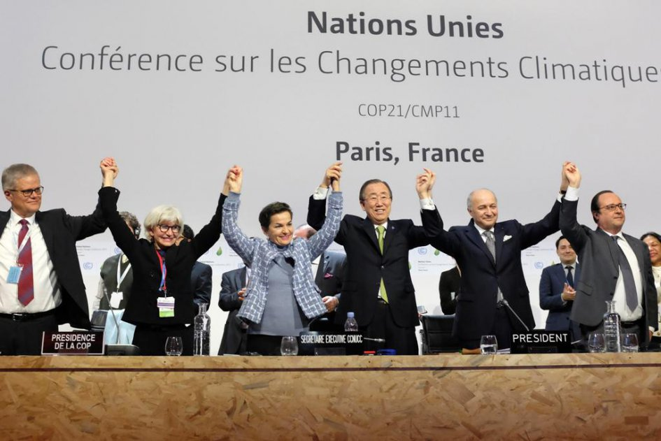 The Paris Agreement has been adopted at COP21! La France aux