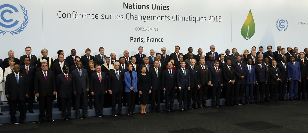 Paris Agreement On Climate Change, 2015 (Accord de Paris