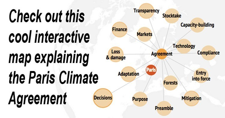 Interactive Map of the Paris Climate Agreement EcoWatch