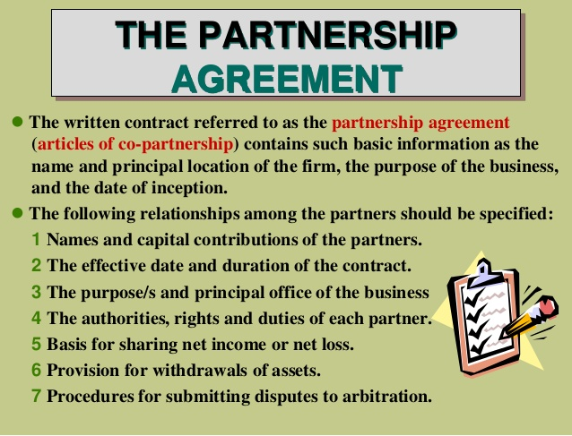 Legal Business Partnership Agreement Inspirational Accounting For