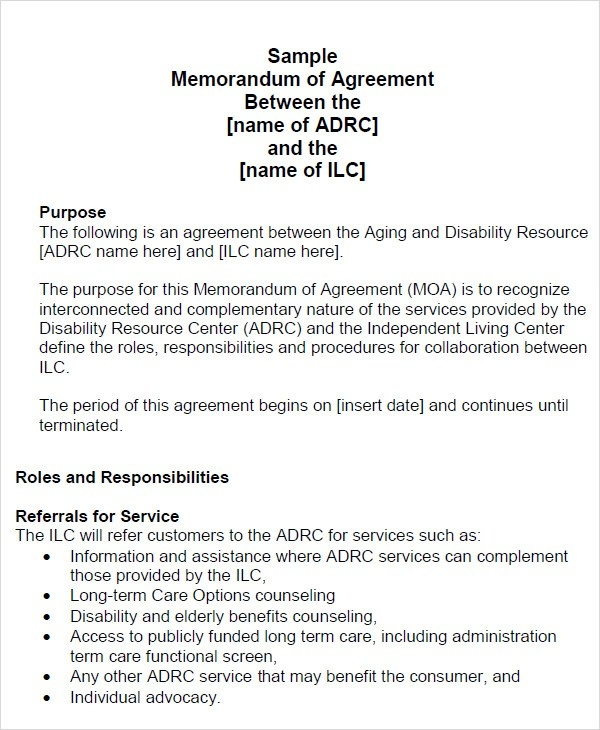 Project Partnership Agreement Sample Genuine Agreement Business