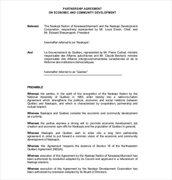 cost contribution agreement template 12 partnership agreement
