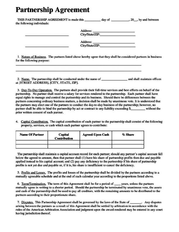 Limited Partnership Agreement 3 | LegalForms.org