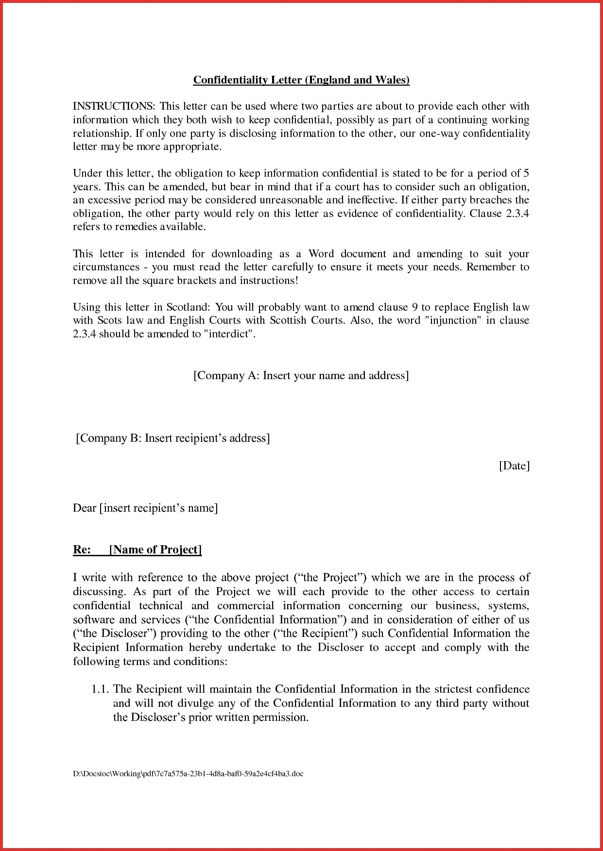 Agreement Between Two Parties Format Copy 20 Unique How To Write