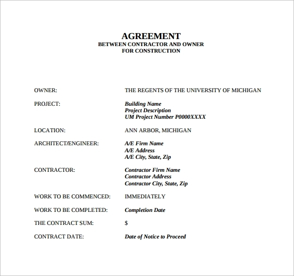 Contract Agreement Between Two Parties Awesome 20 Lovely Agreement