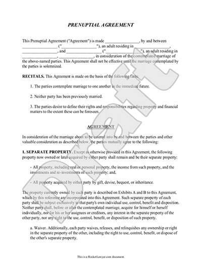 prenup agreement template prenup form w prenuptial agreement