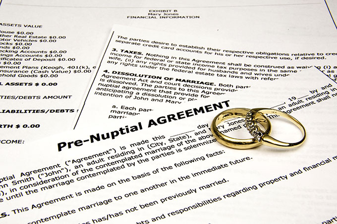 What Should Be On a Prenuptual Agreement Checklist