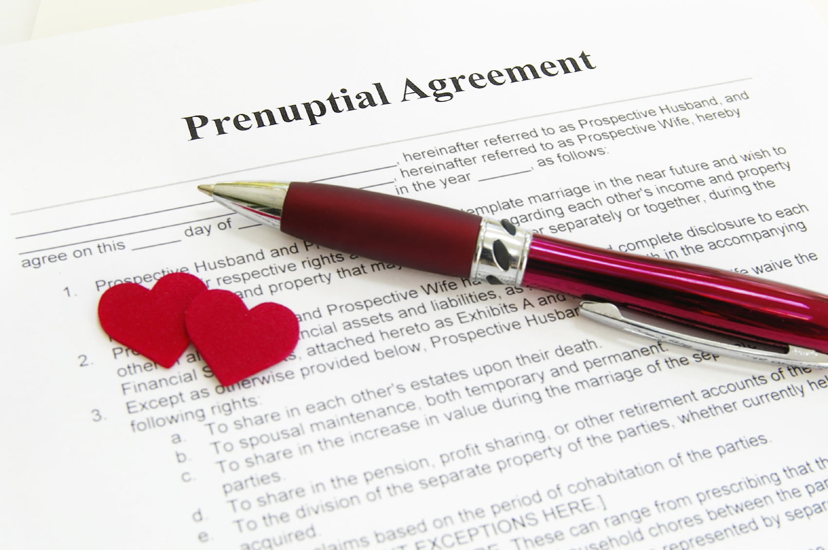 Prenuptial Agreements: Why Women Need Them