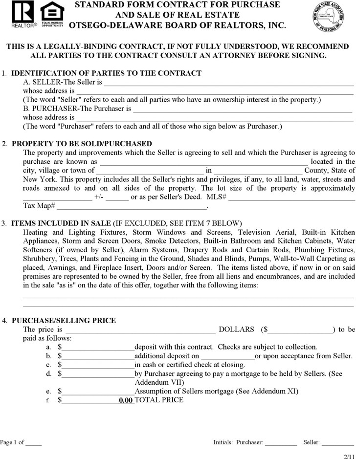Free Real Estate Purchase And Sale Agreement Form Fresh 20 Awesome