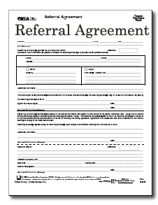referral agreement template real estate the best binary options