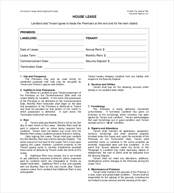 Rental Agreement Template Word | gtld world congress