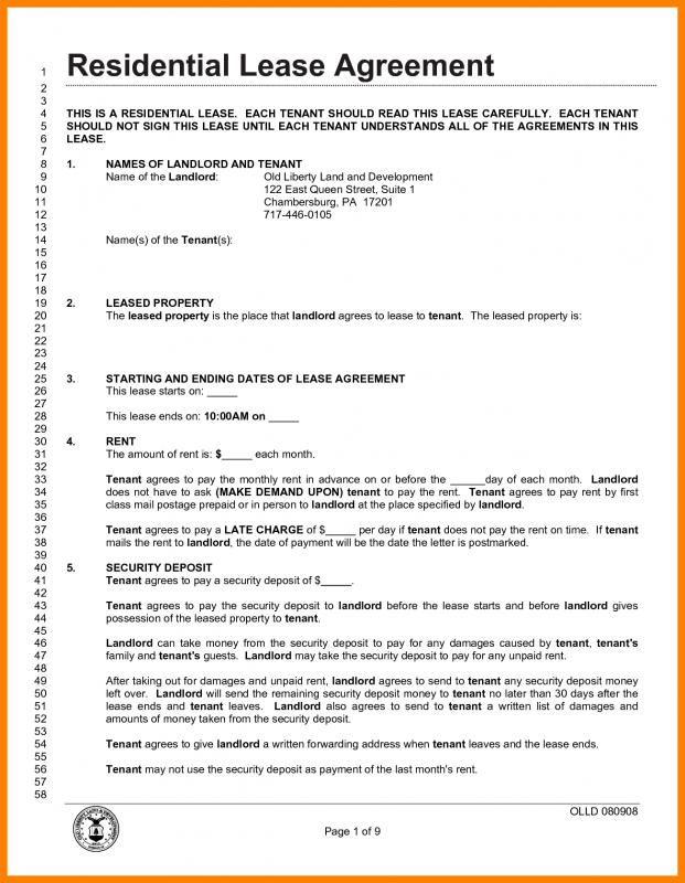 Rental Lease Agreement Pdf Gtld World Congress