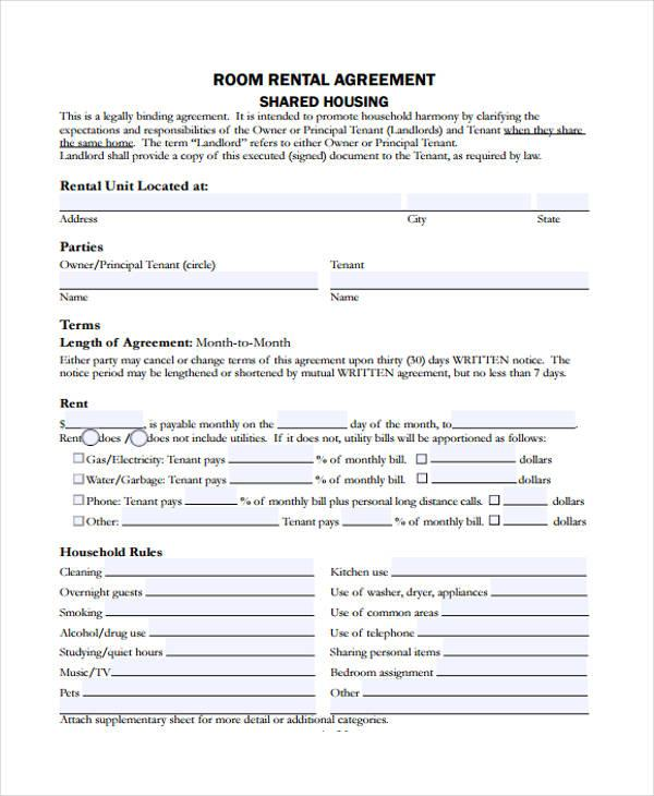 The No. 1 Room Rental Agreement Shared Housing Mistake You're