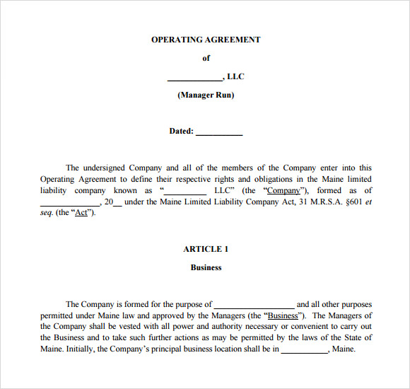 s corp operating agreement template s corp operating agreement