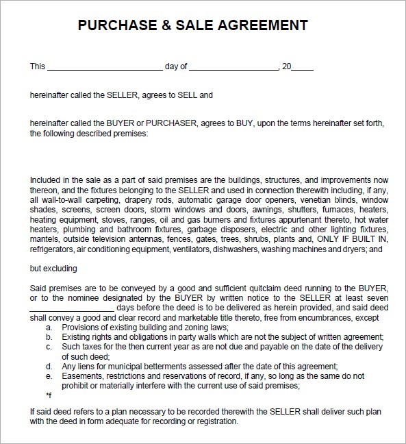 sale agreement form Into.anysearch.co