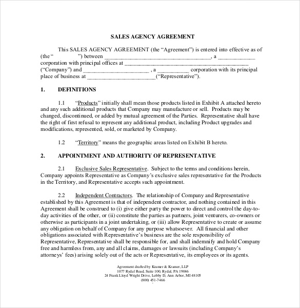 employee sales commission agreement template 12 commission