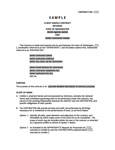 Service Agreement Template: Free Download, Create, Edit, Fill and