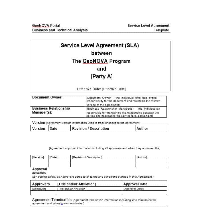 Agreement Templates | Free Word Templates general contract for