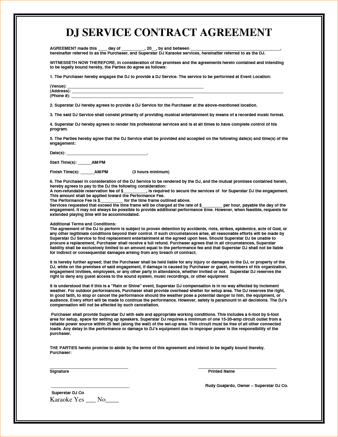 service agreement contract Into.anysearch.co