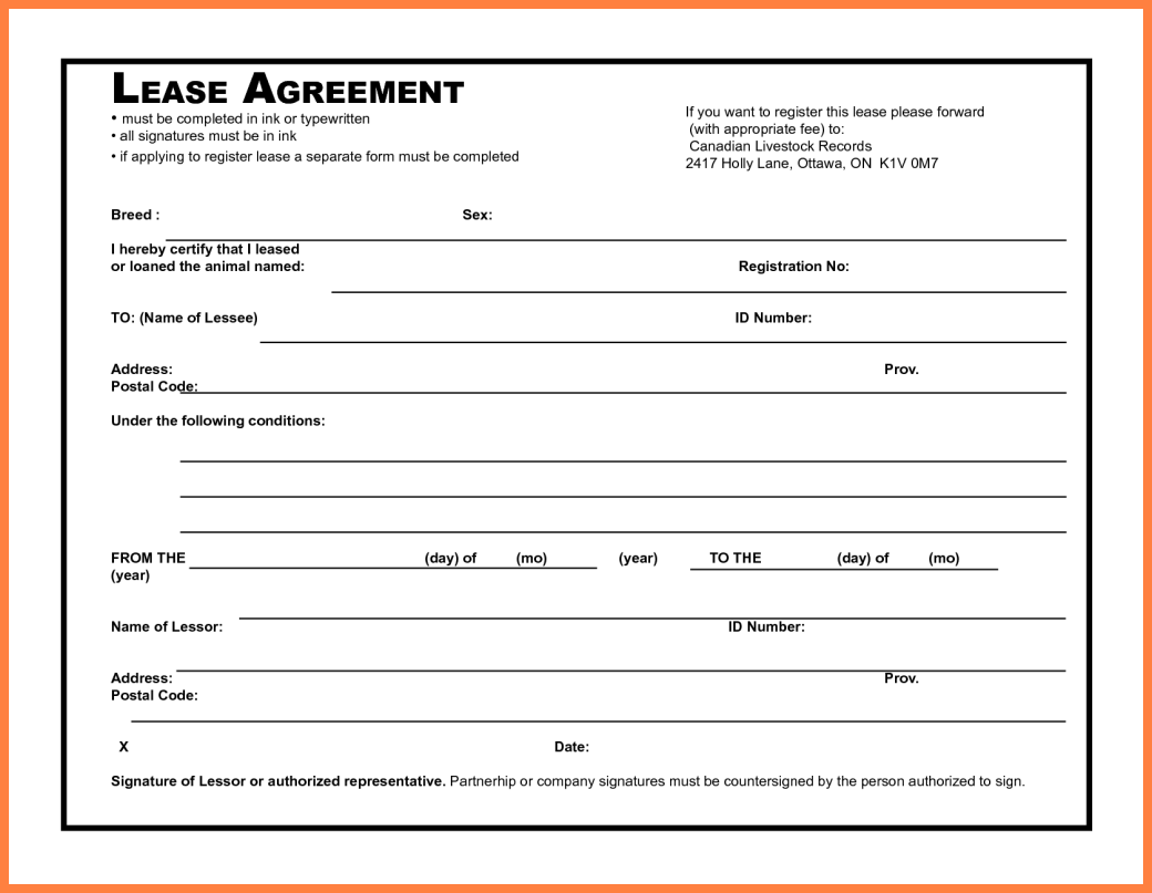 Simple Commercial Lease Agreement Gtld World Congress