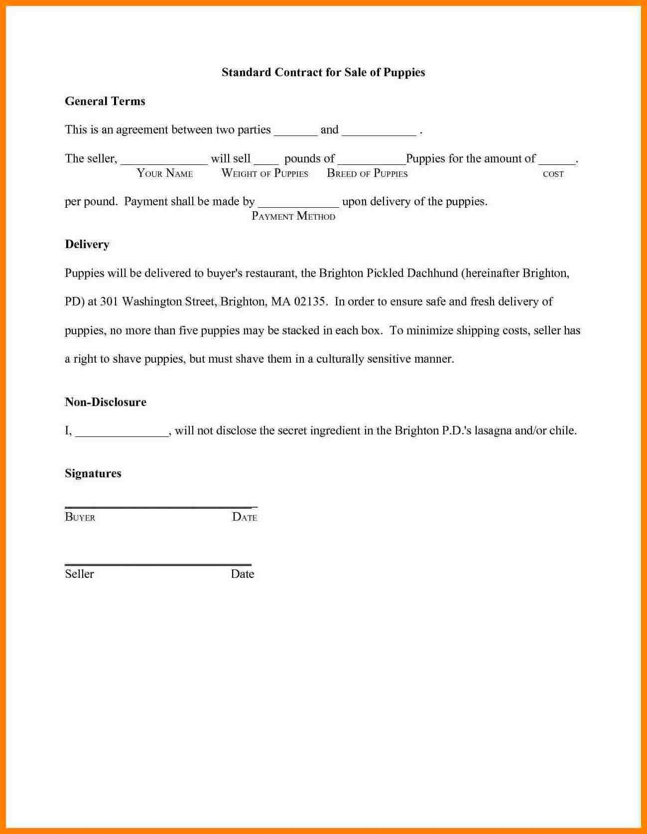How To Draw Up A Formal Contract Save Sample Contract Agreement