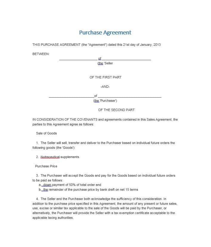 land sale agreement template kenya 37 simple purchase agreement
