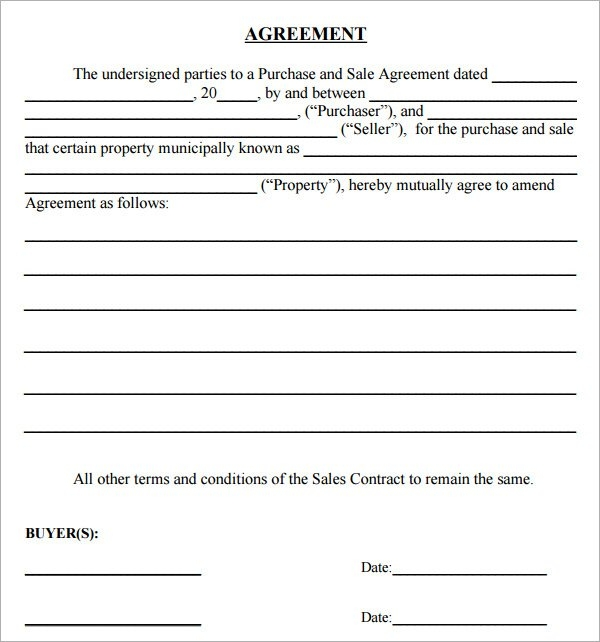 sales and purchase agreement template free simple purchase