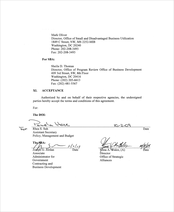 6+ Business Partnership Agreement Samples, Examples, Templates