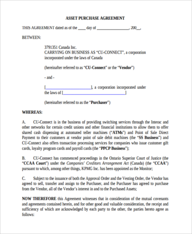 small business agreement template small business purchase