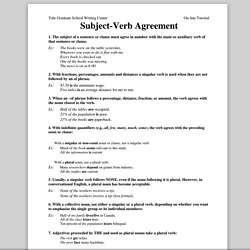 Subject Verb agreement | Pearltrees