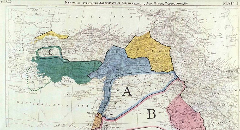 100 Years On: Sykes Picot Agreement Still Haunts the Middle East