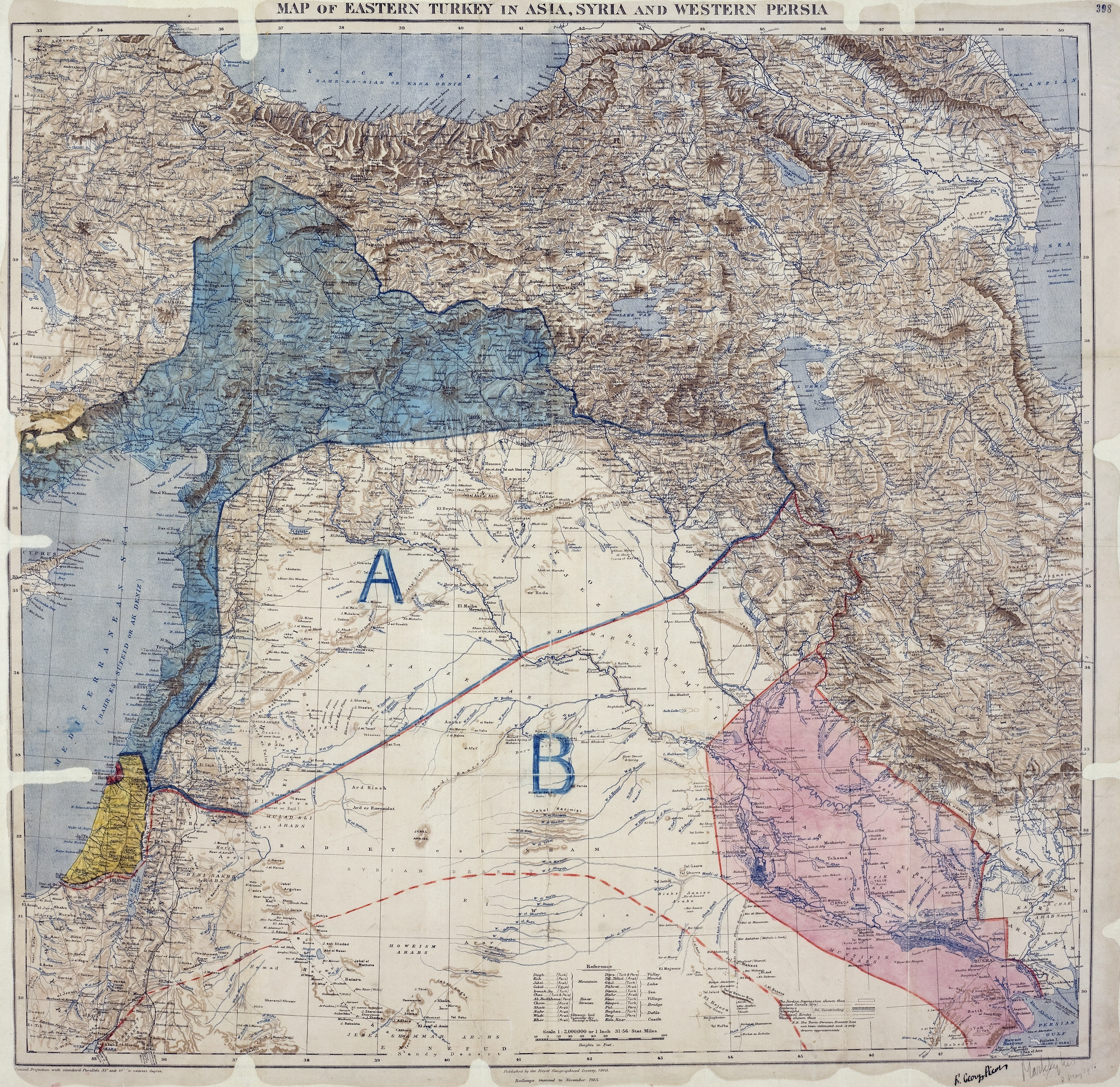Sykes–Picot Agreement Wikipedia