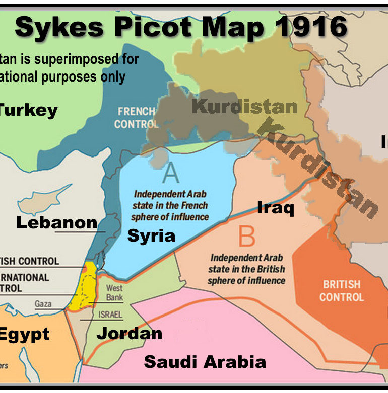 Time for a new Sykes Picot Agreement to fix the Middle East