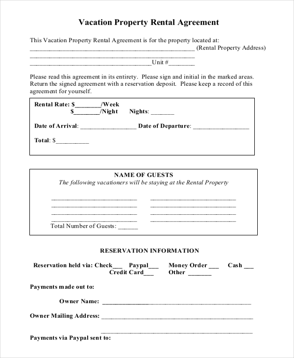 short term lease agreement template sample house lease agreement