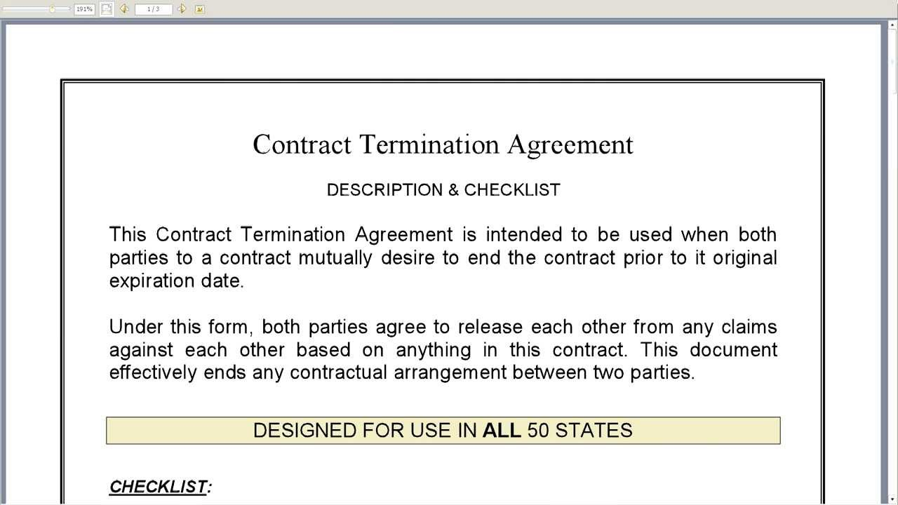 Termination Of Contract Agreement Gtld World Congress