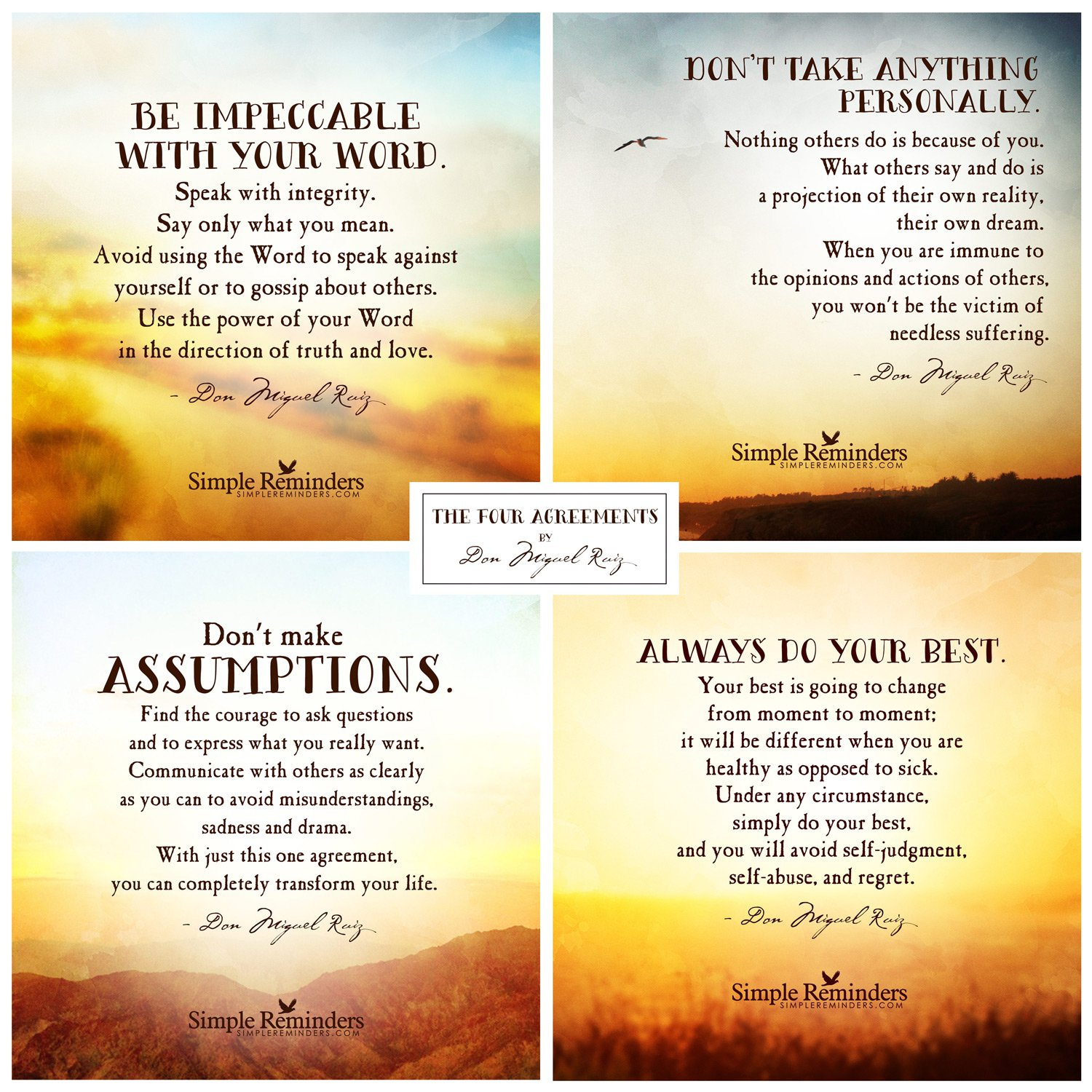 The Four Agreements by | McGill Media