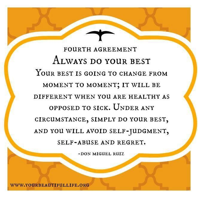 The Four Agreements to a happier you | The Red Fairy Project