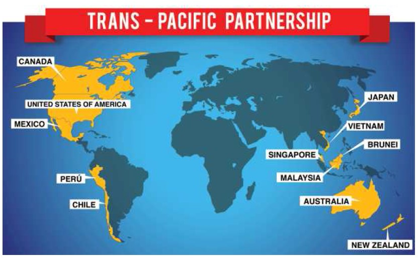 Trans Pacific Partnership Agreement: 3 Possible Scenarios