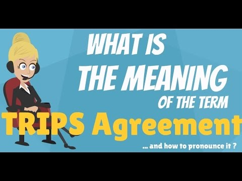 TRIPs agreement WTO