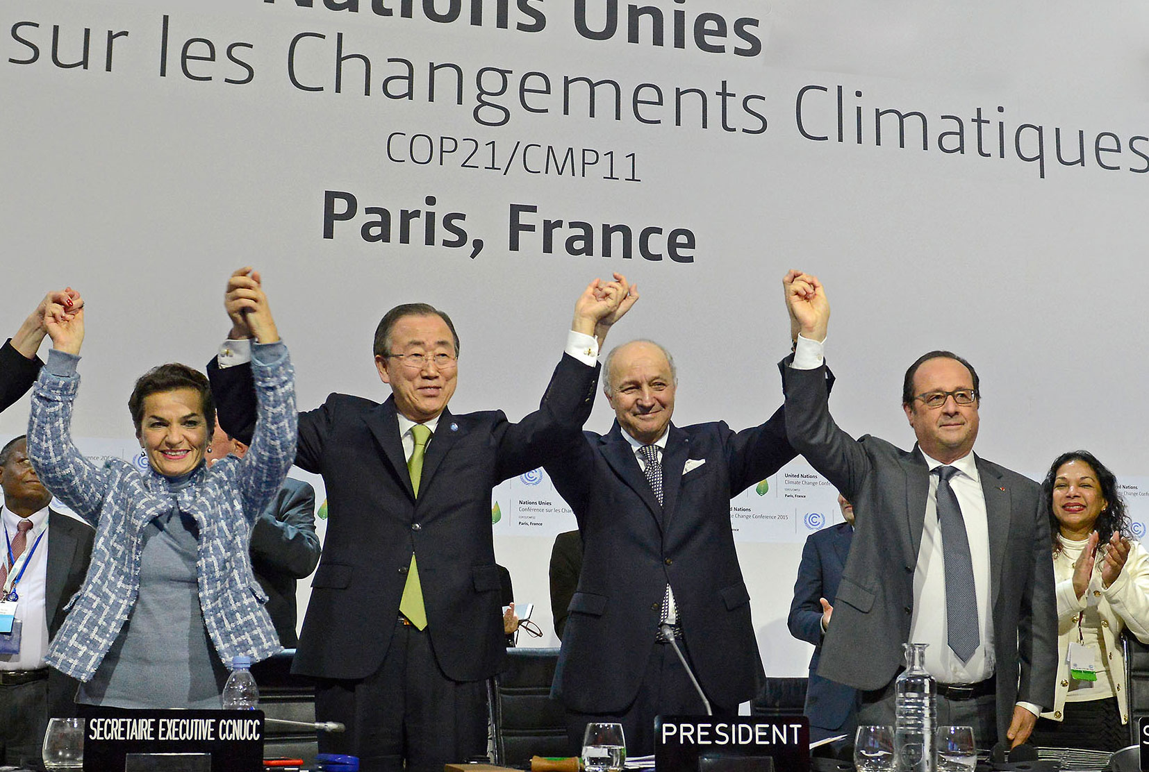 UN's Ban urges leaders to fast track Paris Agreement on climate