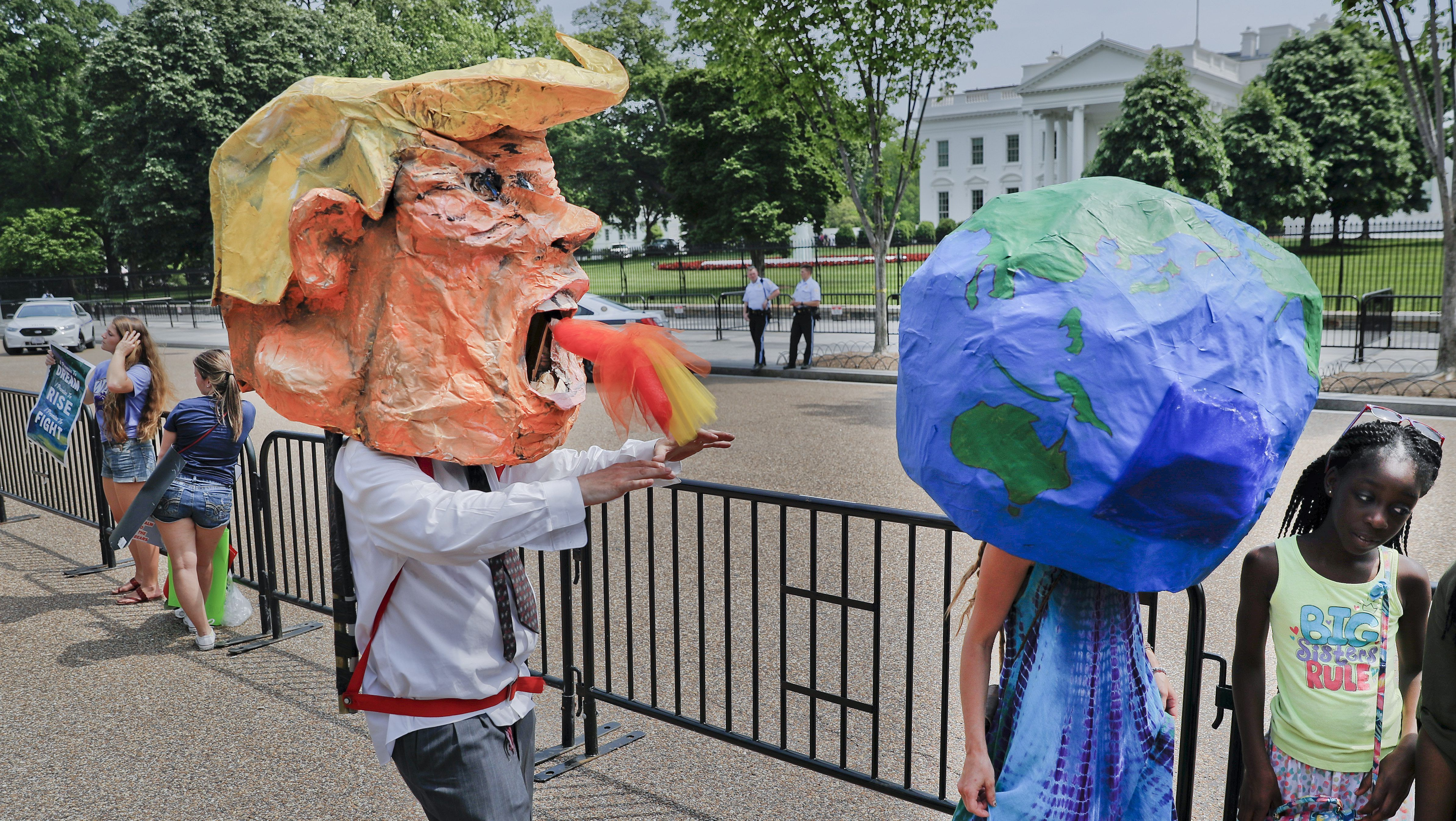 Paris climate agreement: Donald Trump pulls US out of global deal