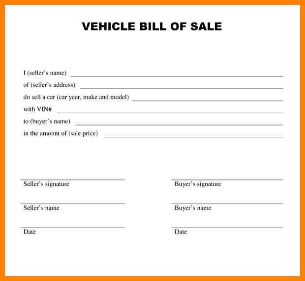 vehicle sales agreement word Into.anysearch.co