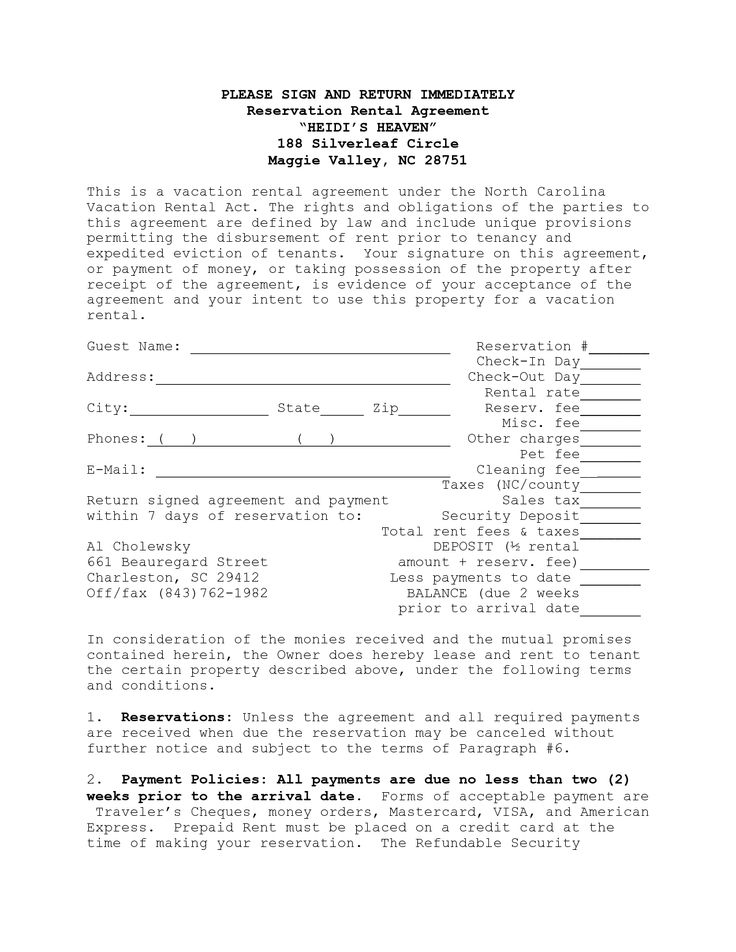 Daily Rental Agreement Form Unique 22 Best Re Vrbo Images On