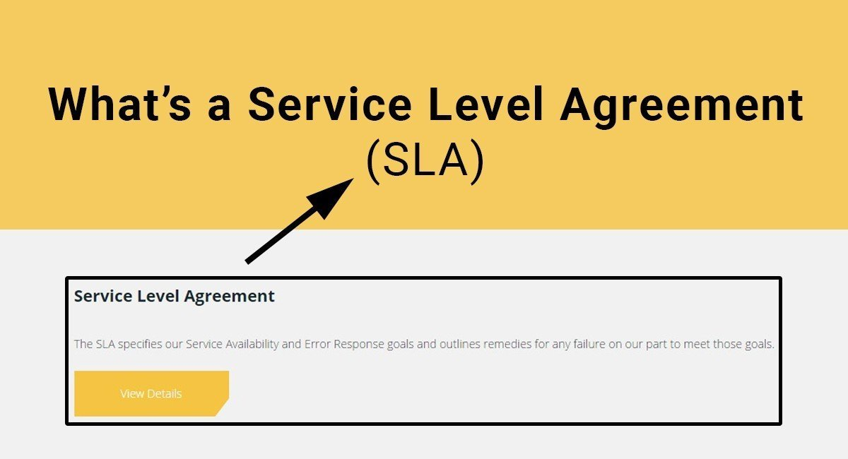 What's a SLA: Service Level Agreement TermsFeed