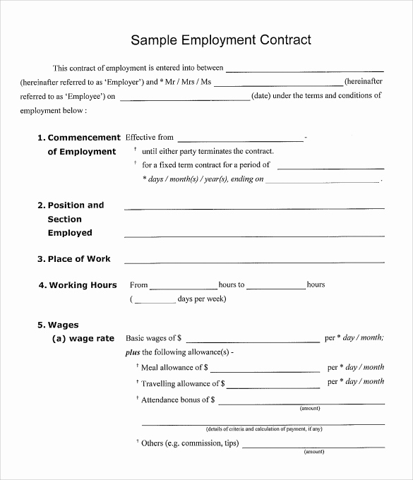 working agreement template work contract agreement beautiful
