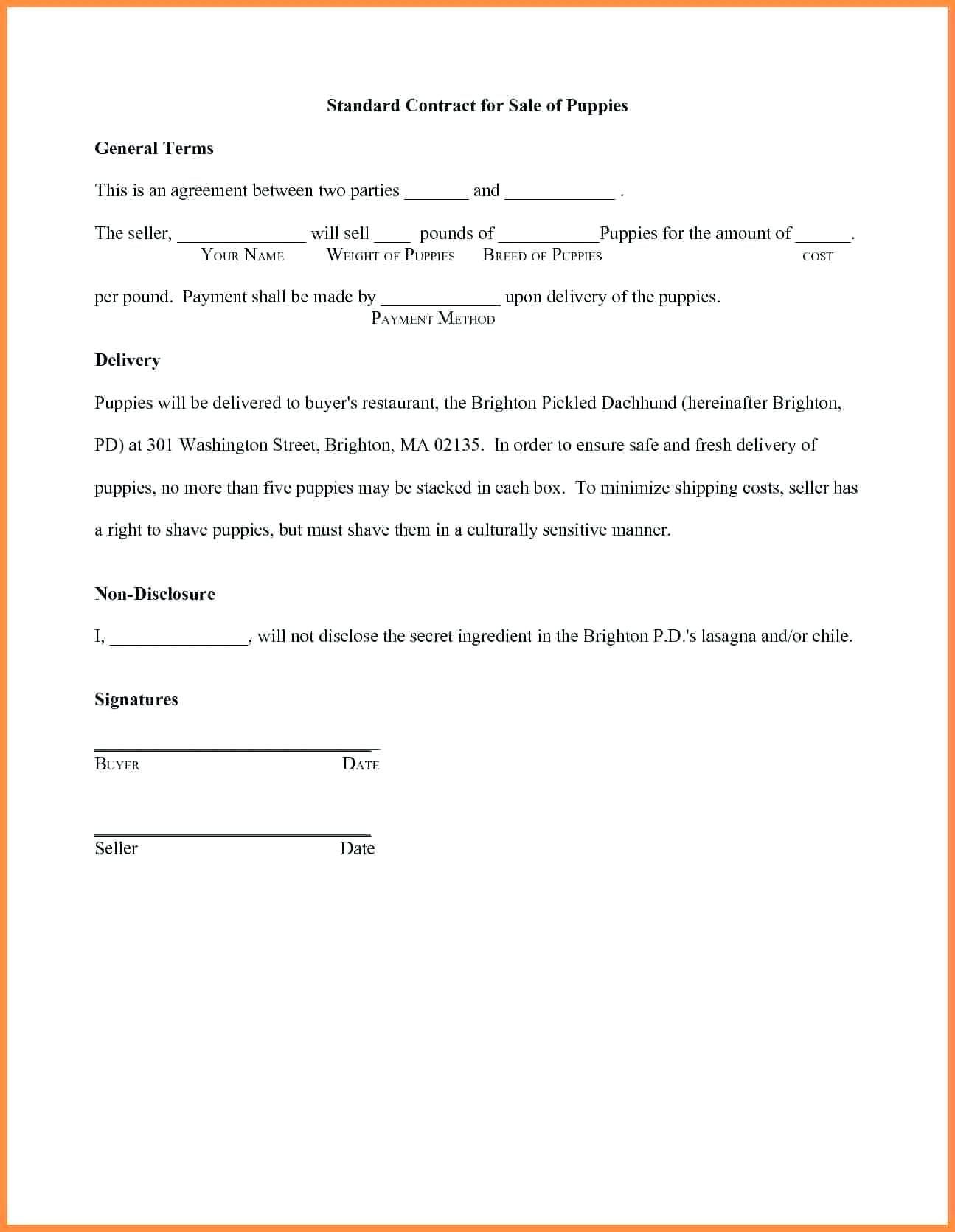 template: Written Agreement Between Two People Template How To