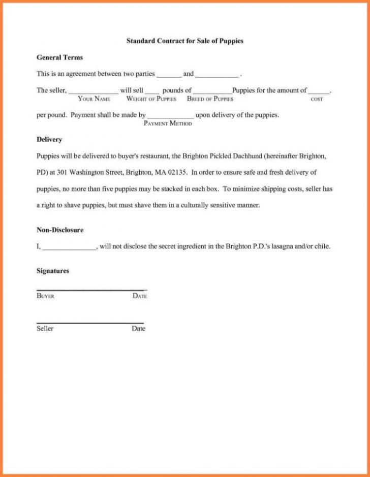 Written Agreement Between Two People Template