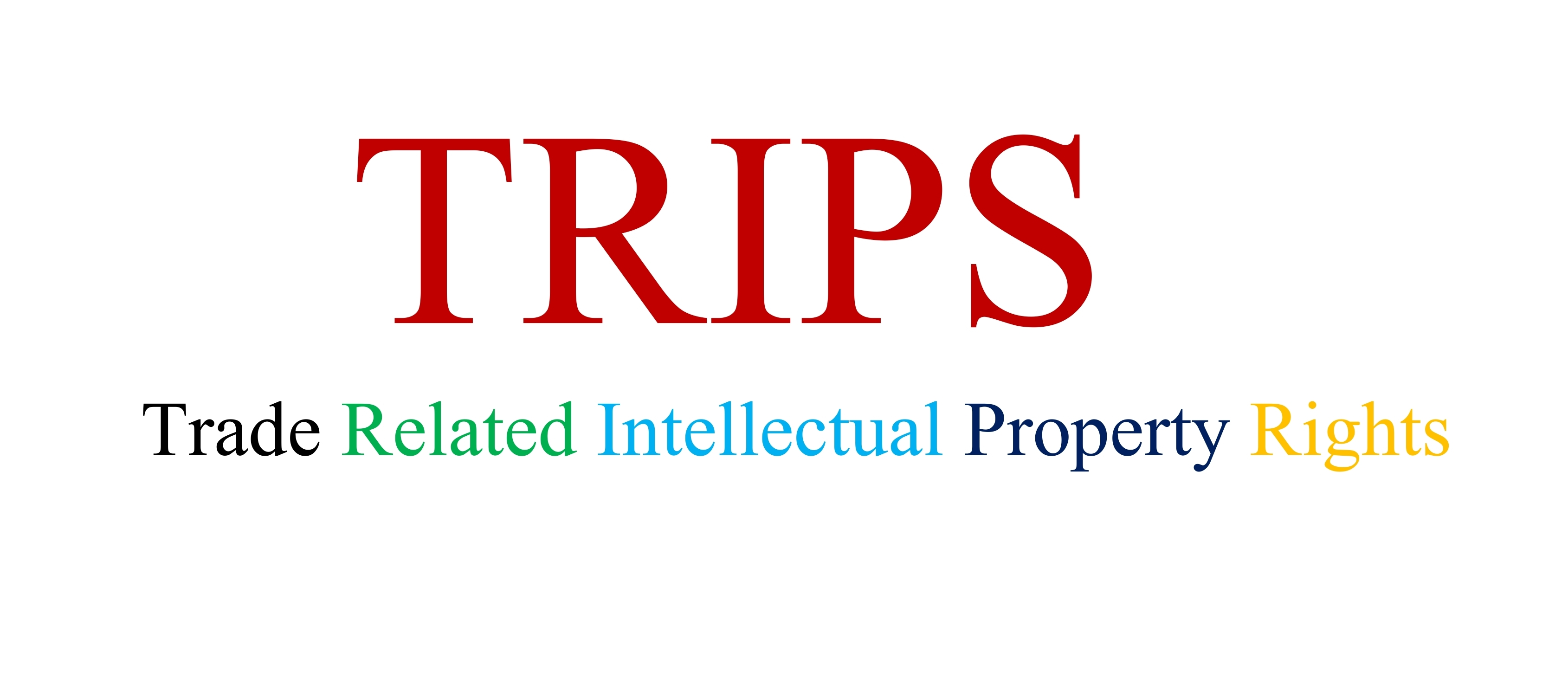 Top Ten changes the agreement on TRIPS brought to the IPR regime